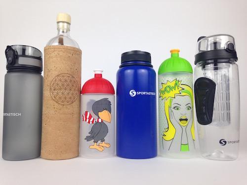 Test-Trinkflaschen